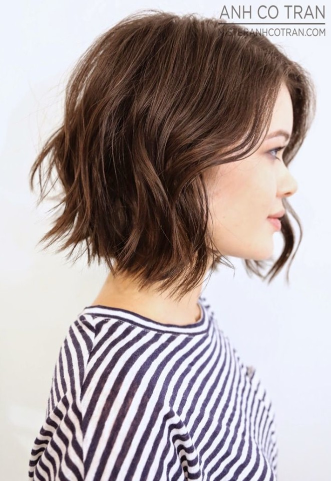 21 Textured Choppy Bob Hairstyles Short Shoulder Length