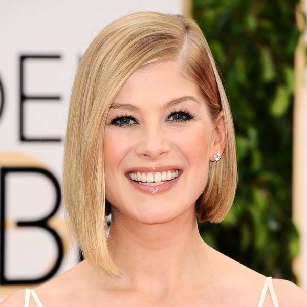 straight asymmetrical bob - A-line bob for thin hair