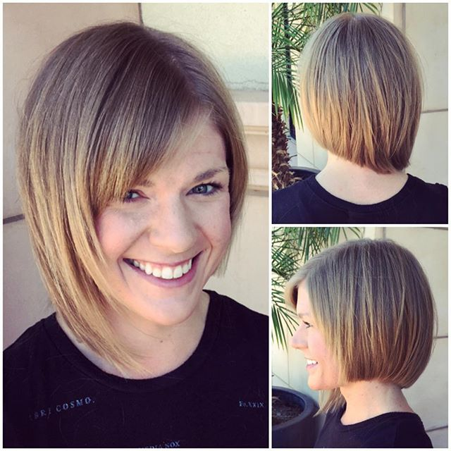 Super Cute Asymmetrical Bob Hairstyles Popular Haircuts