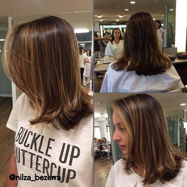 Layered Bob Hair Style For Shoulder Length