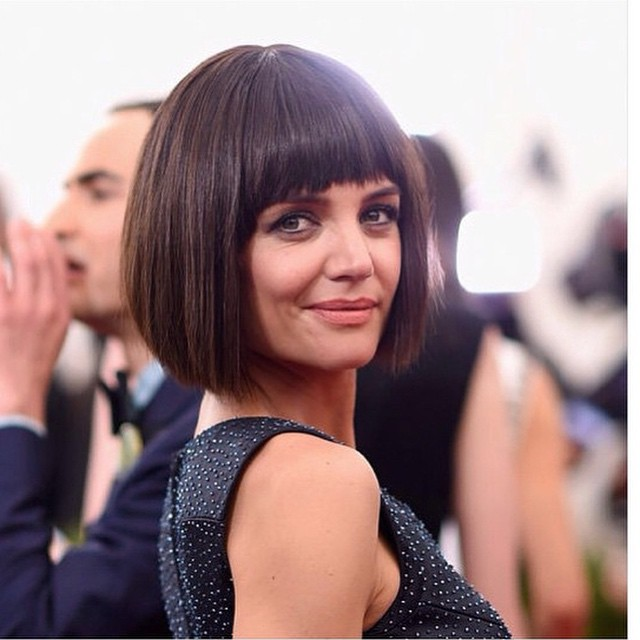 classic-short-brunette-blunt-bob-haircut-with-blunt-bangs-for-women-over-50