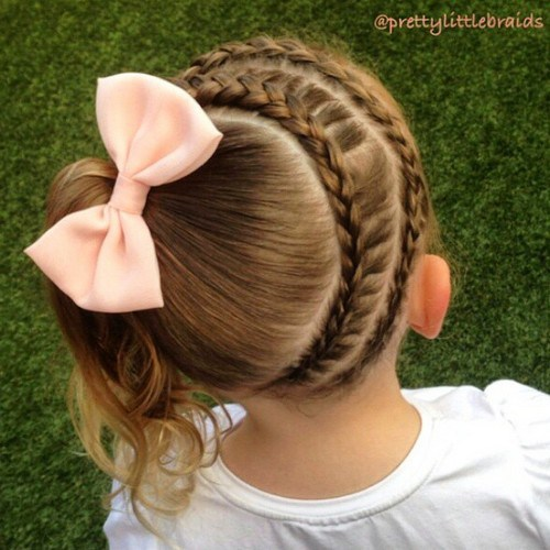 Cute Girls Hairstyles: 20 Adorable Braided Hairstyles For Girls