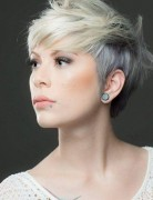 layered short pixie haircut with bangs for fine thin hair