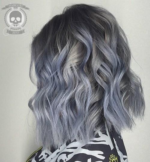 Wunderschöne graue Haare Trendfarben, die Sie beachten sollten