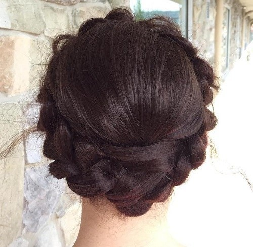 Full Crown Milkmaid Braid