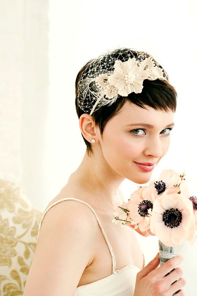 Piecy Pixie - Perfect Short Hairstyles for Weddings