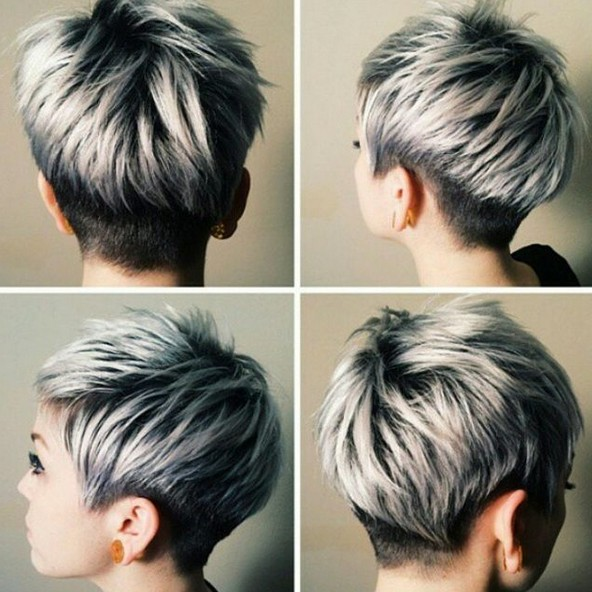 Short, Layered Haircut for Thick Hair