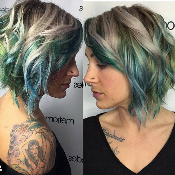 Stylish Layered Curly Hairstyles For Short Hair 2016