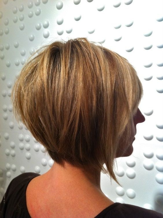 Super-Hot Stacked Bob Haircuts