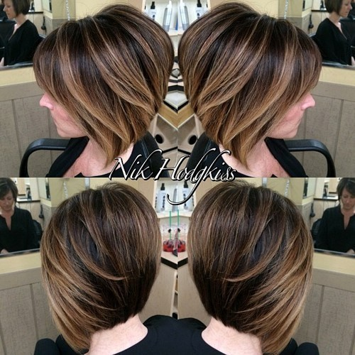 Textured Layered Dimensional Style Short Bob Haircuts For Women Popular Haircuts