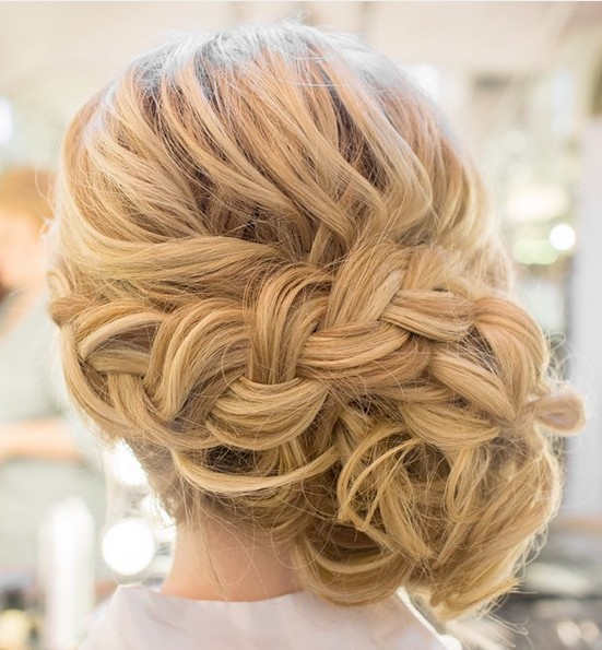 27 Super Trendy Updo Ideas For Medium Length Hair Popular Haircuts