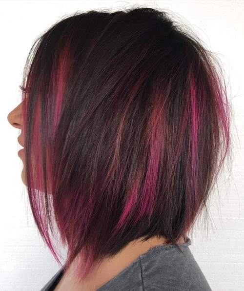 Two-toned hair and styles