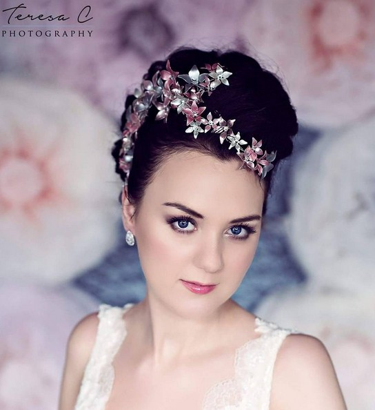Updo Hairstyle for Bride