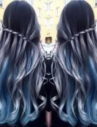 Balayage Long Hairstyle with Braid