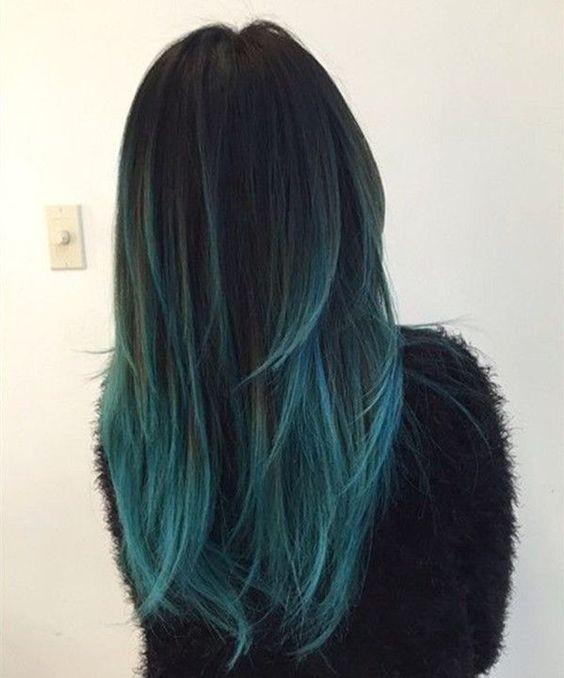 18 prachtige blauwe ombre kleuren en stijlen