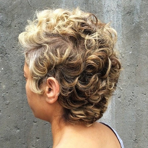 Blonde Balayage for Black Women Short Hair