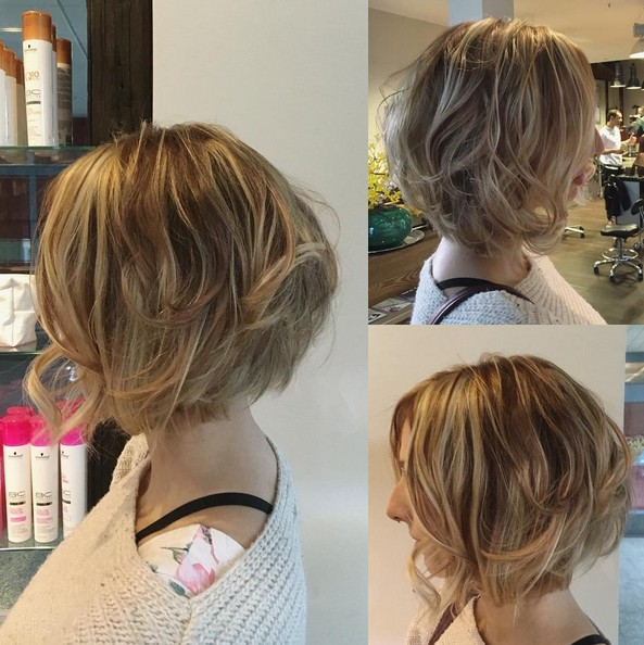 Casual, Everyday Hairstyle for Short Hair - Bob Haircut with Fine Hair
