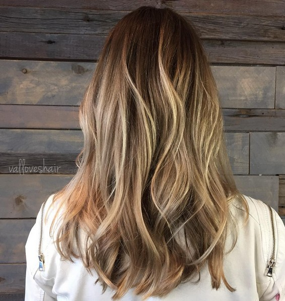 Easy, Everyday Hairstyle for Long Hair - Gorgeous Balayage Hairstyles