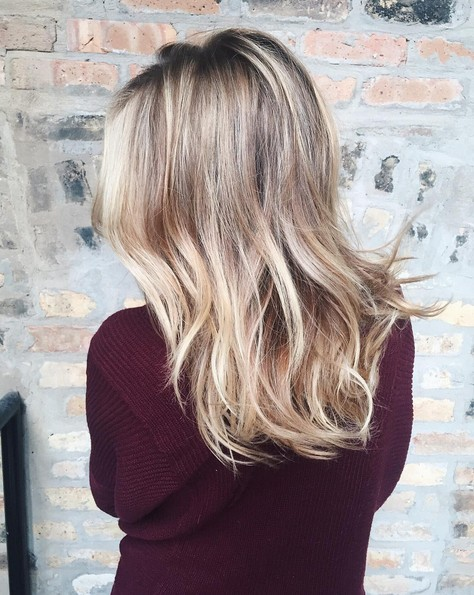 Gorgeous Blonde Color - Stylish Hair Color Ideas for Women Long Hair