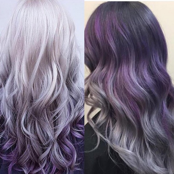 Hairstyles Purple : ... Purple Hair additionally Long Purple Hair. on hairstyles for long hair