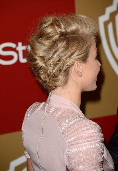 Homecoming Hairstyle for Short Hair - Updo Hairstyle