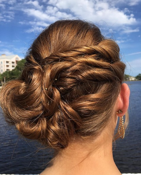 Homecoming Updo Hairstyle for Medium, Short Hair