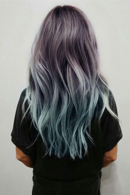 Swell 18 Beautiful Blue Ombre Colors And Styles Popular Haircuts Hairstyles For Women Draintrainus