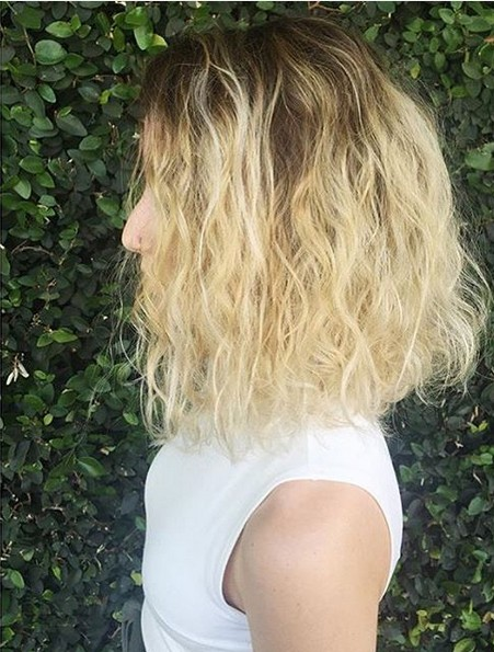 Messy, Curly Hairstyles with Shoulder Lenght Hair - Hairstyles for Fine Hair