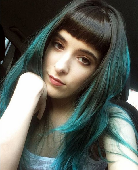 Awesome Ombre Hair With Blunt Bangs Short Hairstyles For Black Women Fulllsitofus
