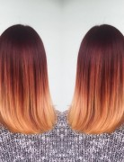 Stylish Shouder Length Hairstyle - Ombre Hair
