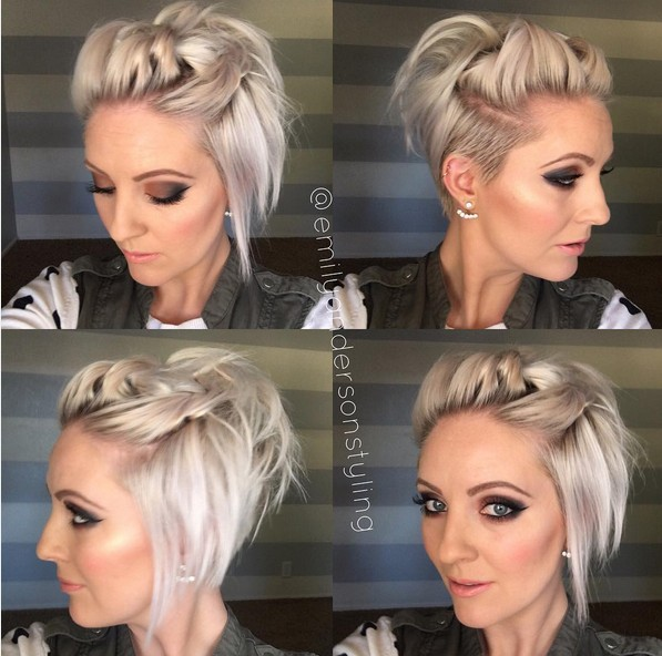 Super Quick Knotted Hairstyle with Short Hair - Summer Hairstyles for Girls