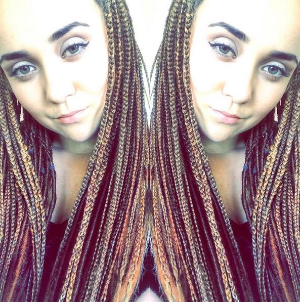 12 hübsche Afroamerikaner umsponnene Frisuren