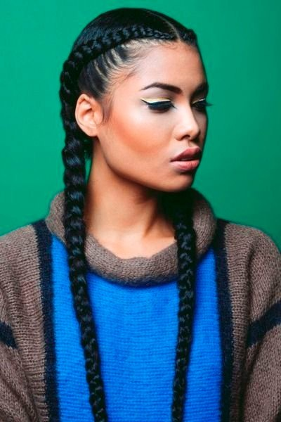 Easy Braid Hair Style - African American Hairstyle