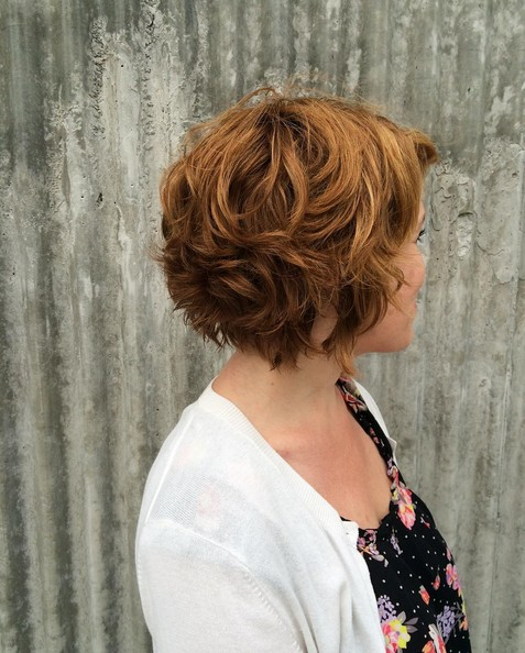 Easy, Curly Short Bob Cut