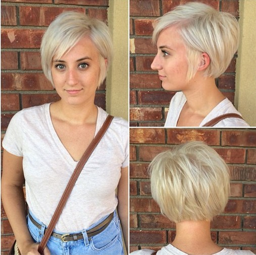 easy short haircuts for fine hair adorable pixie haircut ideas with bangs popular haircuts 5025 | Easy Light Blonde Pixie Haircut Cute Easy Short Hairstyles for Fine Hair