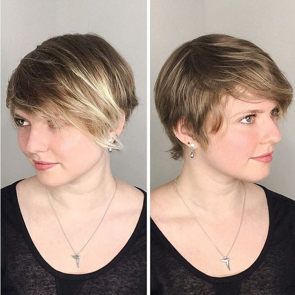 Razored Cut - Pixie Crop