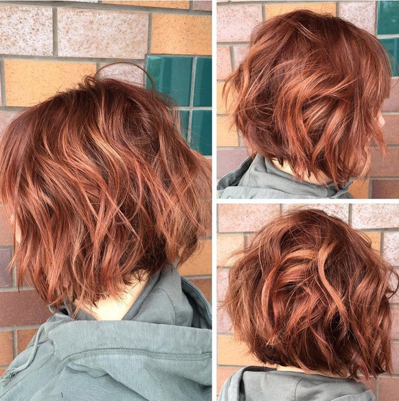 How to curl a bob haircut