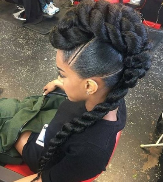 Something different, Beautiful African American Braid