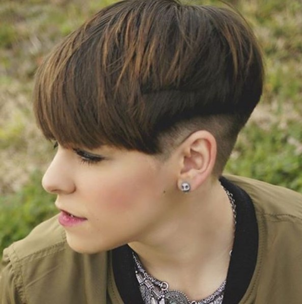 undercut hair styling 10 trendy bowl cuts and styles crazyforus 3349