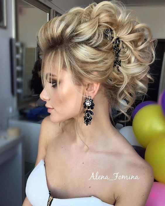 Amazing 10 Elegant Hairstyles For Prom Best Prom Hair Styles 2016 2017 Hairstyle Inspiration Daily Dogsangcom