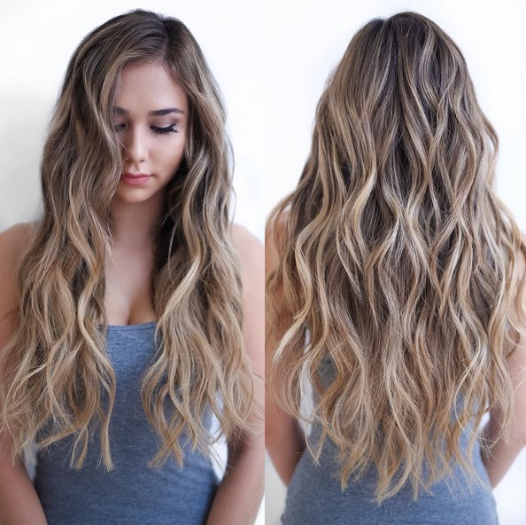 Blonde Highlight Hair Styles 8