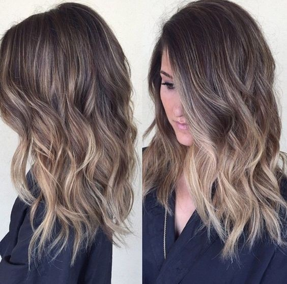 Pictures Of Medium Hairstyles For 2017 : Easy everyday hairstyle for shoulder length hair