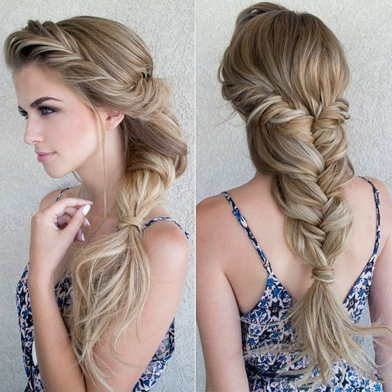 Gorgeous and Romantic Braid for Long Hair! - Summer Hairstyles with Braids