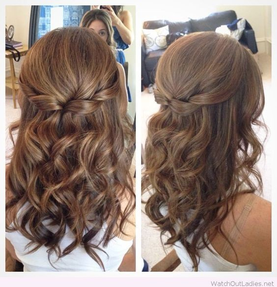 Half Up Hairstyles For Short Hair For Prom 20