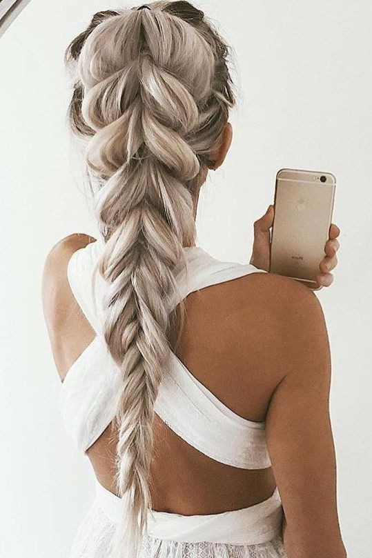 Loose, Thick Braided Hair Styles