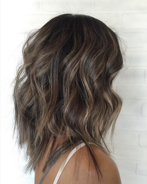 Medium Length Hairstyles For Thin Hair Balayage Styles