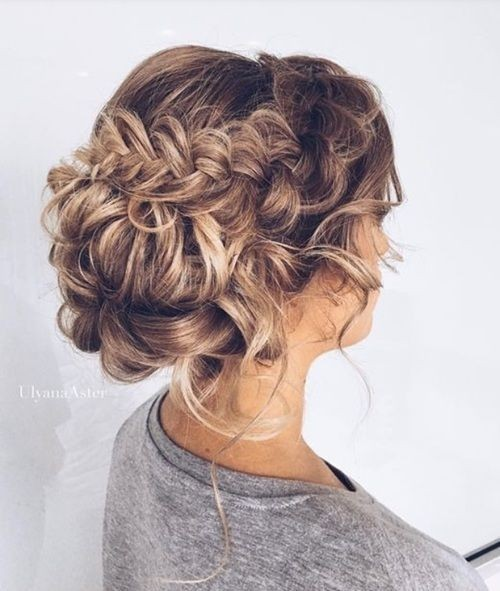 braided hairstyles for prom : 18 Elegant Hairstyles for Prom: Best Prom Hair Styles 2017