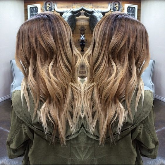 15 Balayage Hair Color Ideas With Blonde Highlights: 20 Beautiful Blonde Balayage Hair Color Ideas