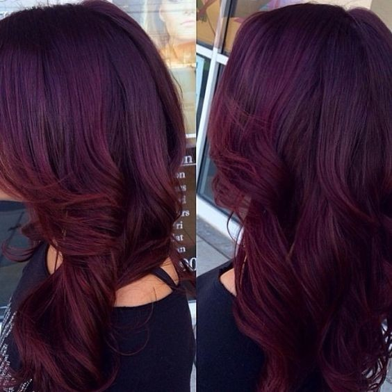 10 Mahogany Hair Color Ideas: Ombre, Balayage Hairstyles 2020