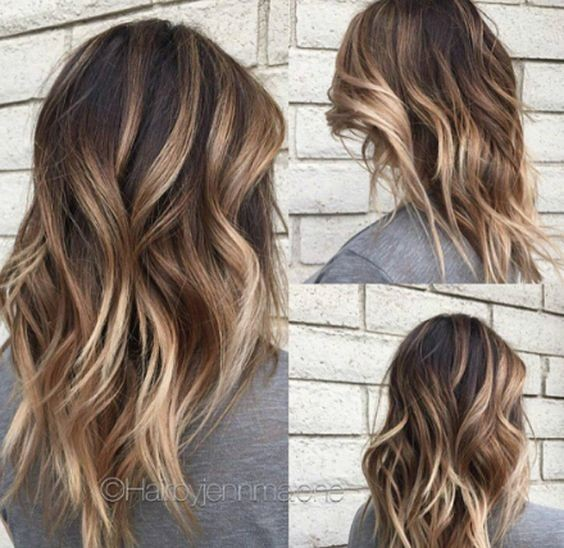 Balayage Hairstyle Ideas , Winter Hair Color 2016 , 2017